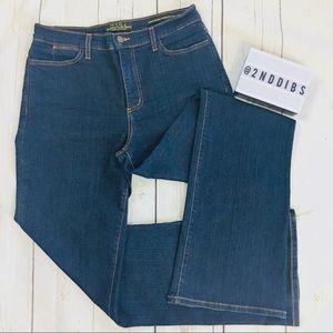 NYDJ Dark Wash Style #700 Tummy Tuck Jeans Size 10